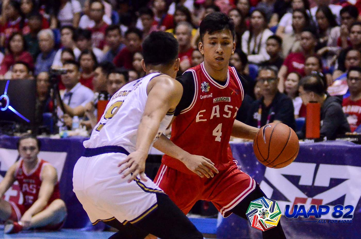 AIMING HIGH. UE's Rey Suerte makes the most out of his one-and-done season. Photo release