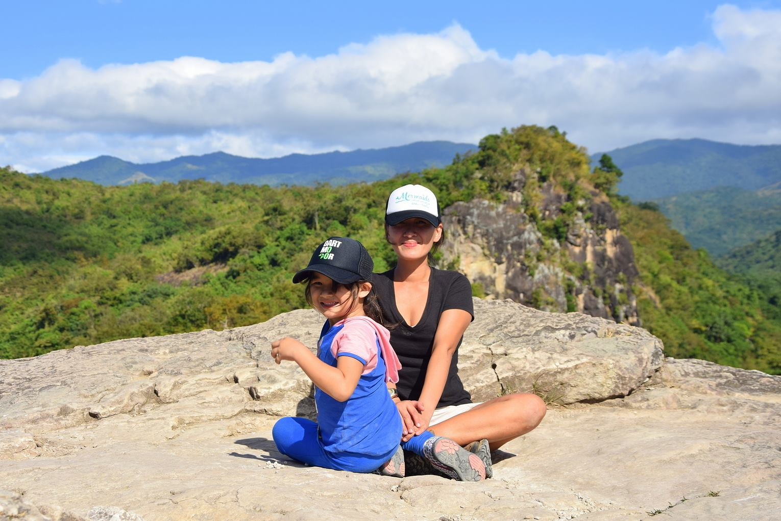 FUN AND SAFETY. You can go on adventures like mountain climbing while still mindful of safety. Gretchen Filart has been climbing mountains with Lia since the latter was just two years old. Photo courtesy of Gretchen Filart