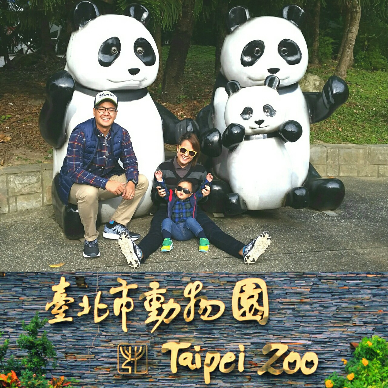 CHILD-FRIENDLY PLACES. Mother and entrepreneur Reese Tirona-Rojas advises picking places kids will enjoy, like this zoo during their family travel in Taiwan, when her son Andres was close to two years old. Photo courtesy of Reese Tirona-Rojas