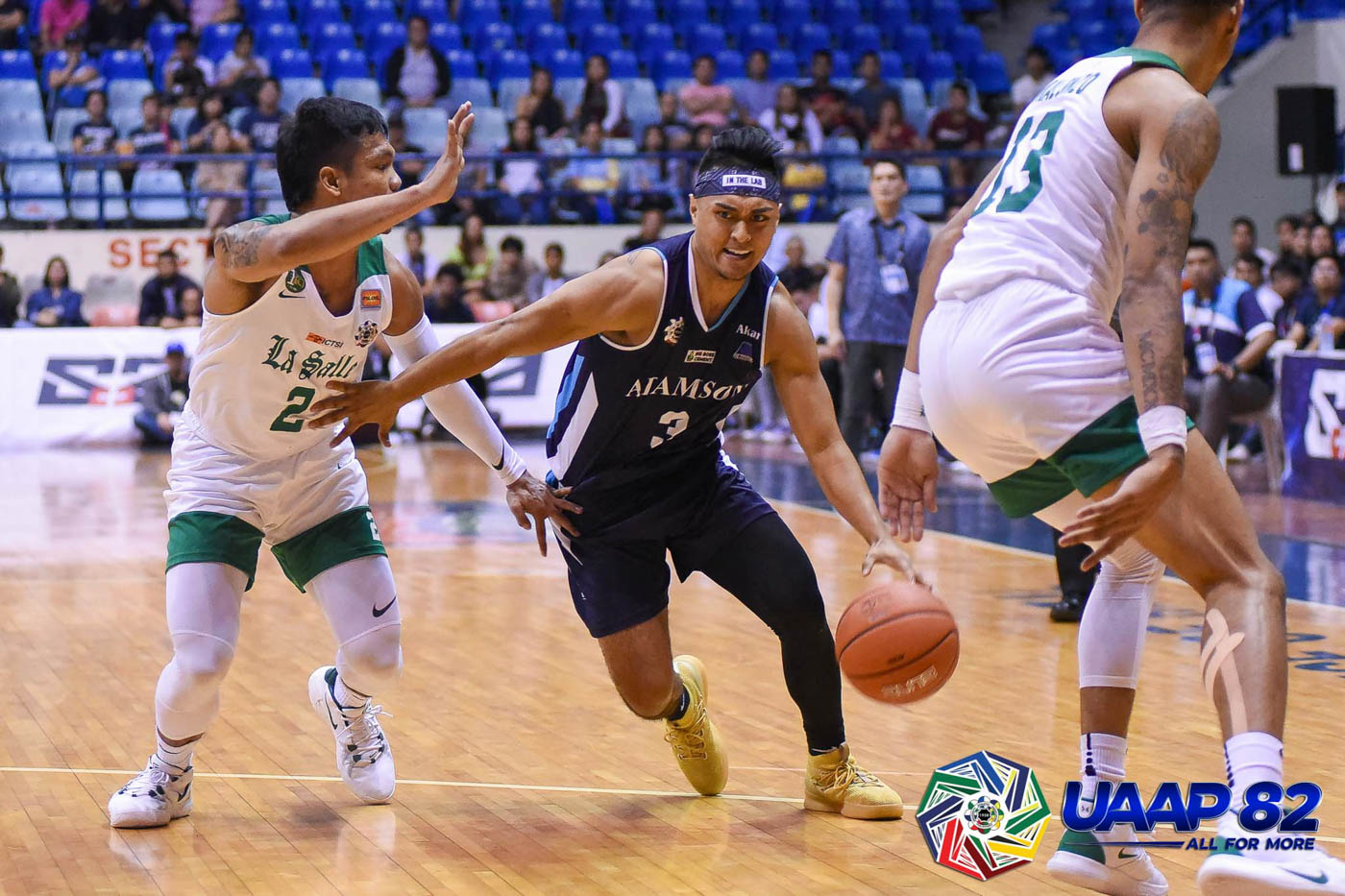 HEARTBREAKER. Adamson falls short even with Fil-Peruvian standout Val Chauca trying to carry his team in the final stretch. Photo release