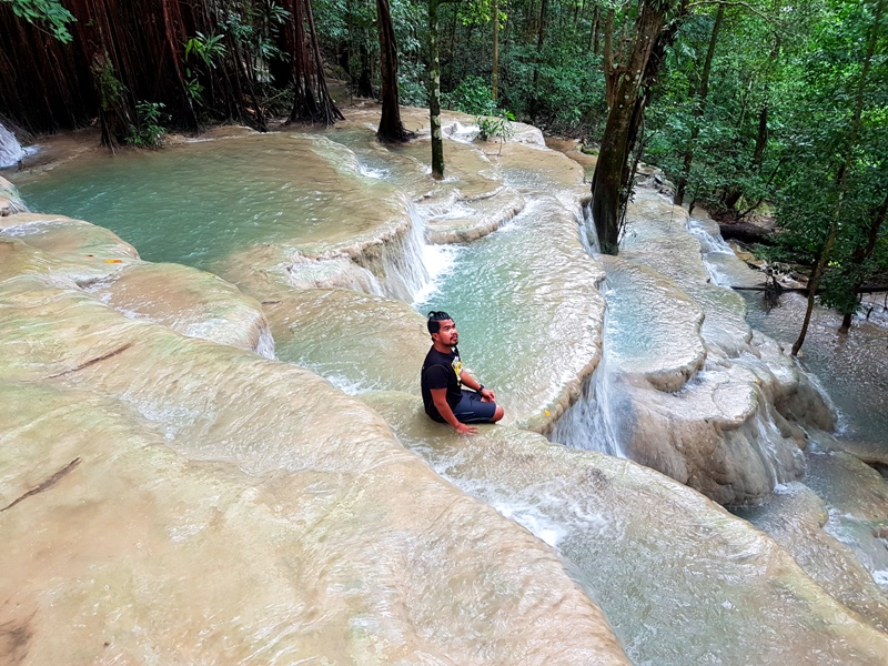 TERRACES. The waters of Kaparkan Falls in Tineg, Abra cascade over a naturally carved stairway. Photo courtesy of Jan Vincent Francisco (facebook.com/GalaPH)