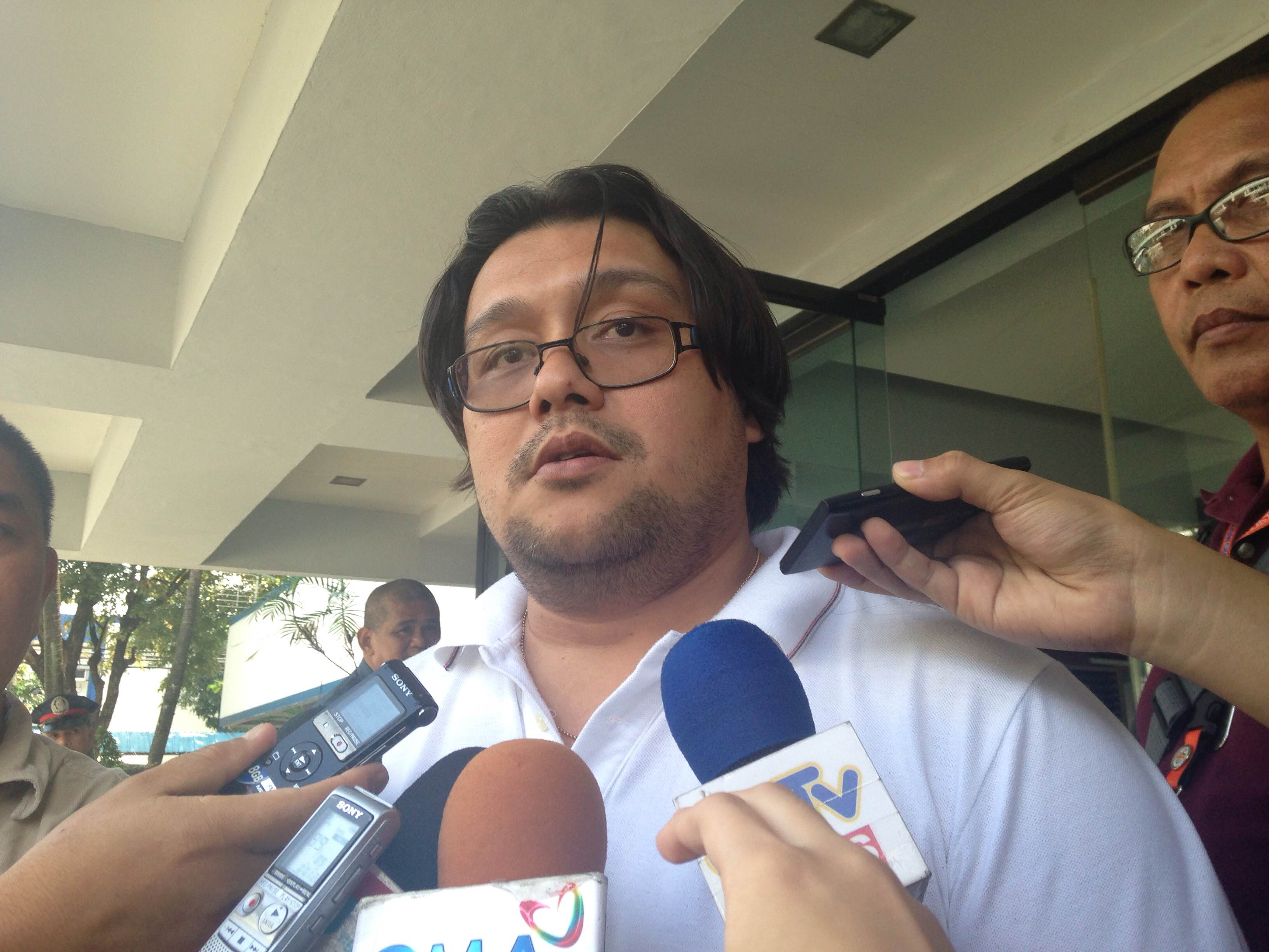 LEGAL BATTLE. Valmoria says the Reyes brothers will likely file a petition to post for bail. Photo by Mara Cepeda/Rappler