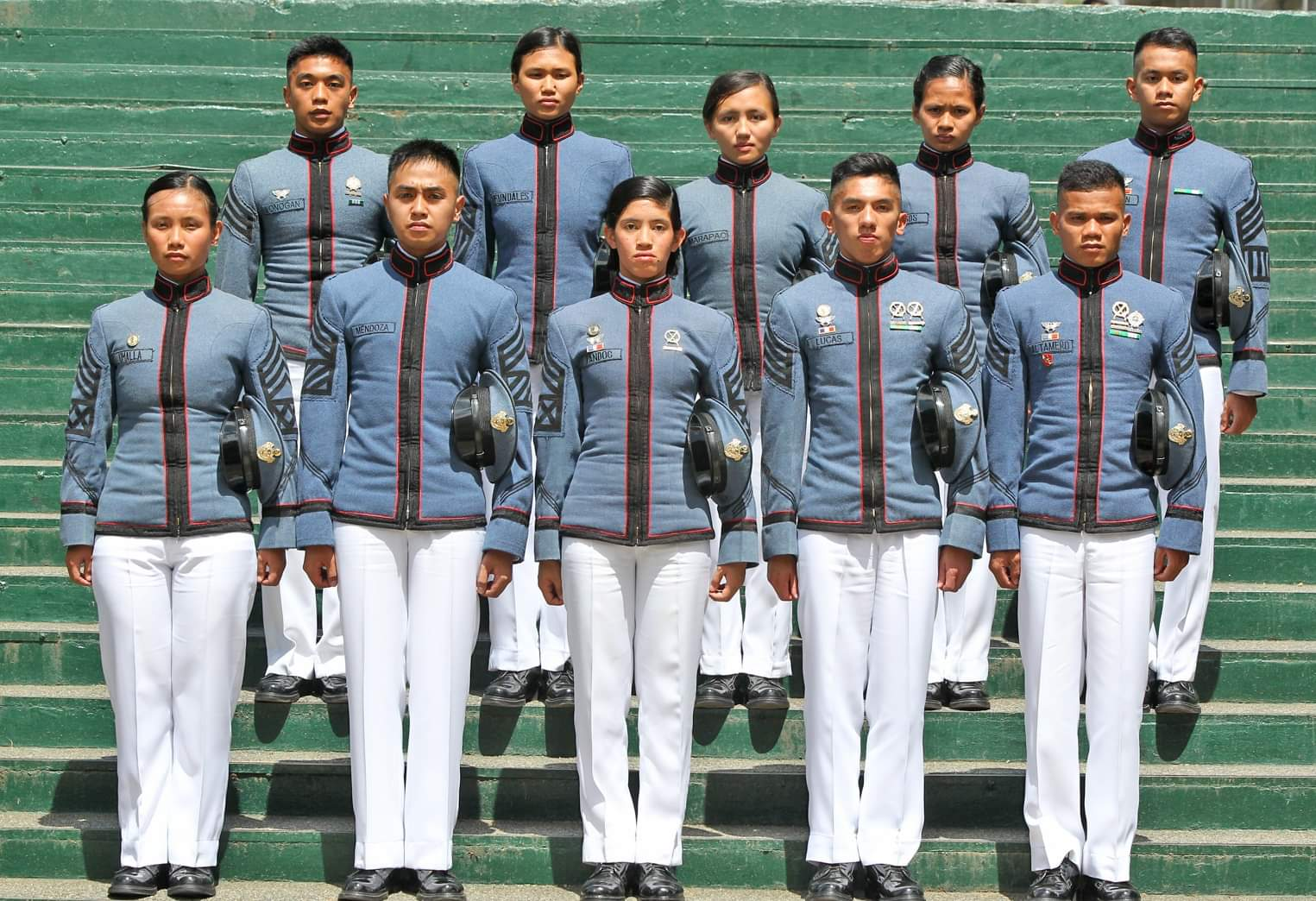 MABALASIK. The Top 10 of Philippine Military Academy's (PMA) Mabalasik Class of 2019. A total of 263 cadets will graduate from the PMA on Sunday, May 26. Photo by Mau Victa/Rappler
