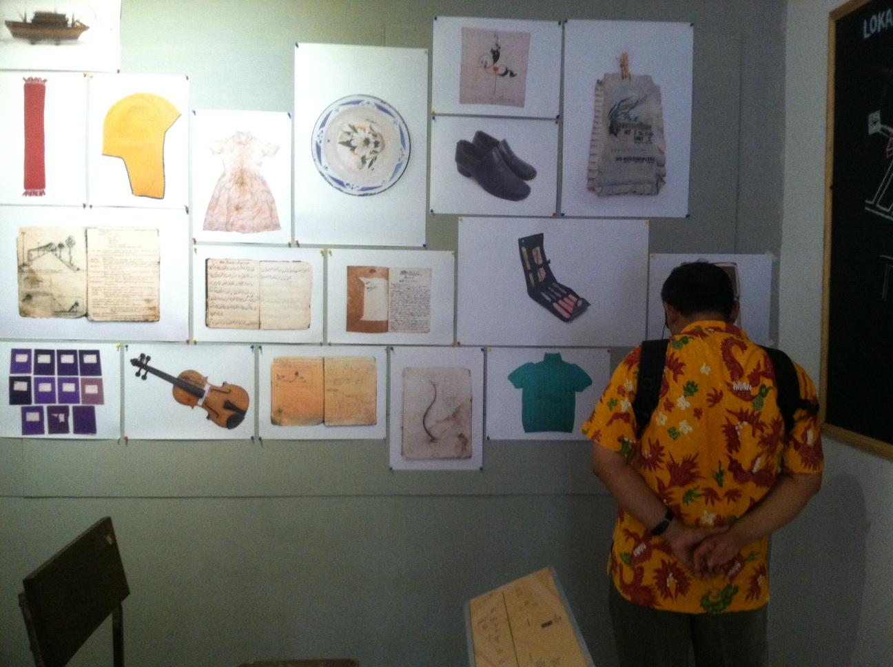 Museum Bergerak merefleksikan kerja-kerja seni dan budaya dalam kerangka melawan lupa (amnesia) bangsa Indonesia. Foto oleh Mawa Kresna/Rappler