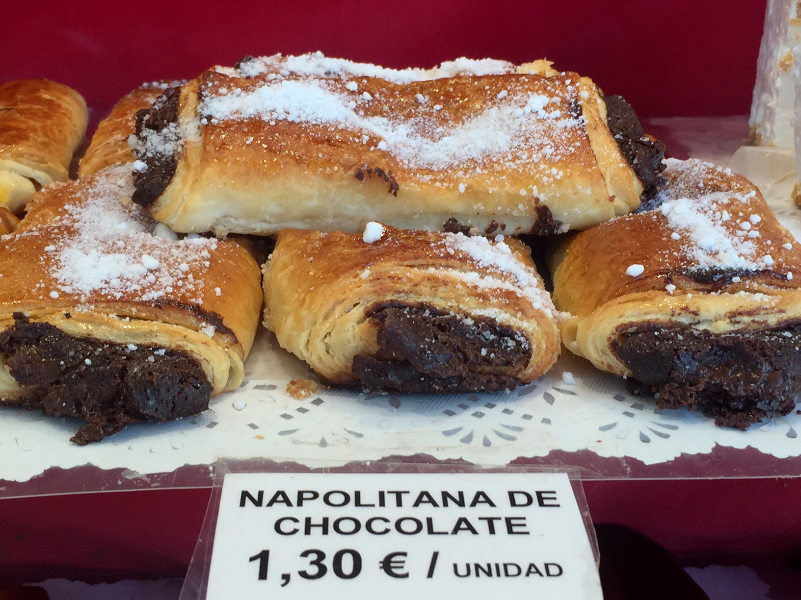 Napolitana chocolate, La Mallorquina
