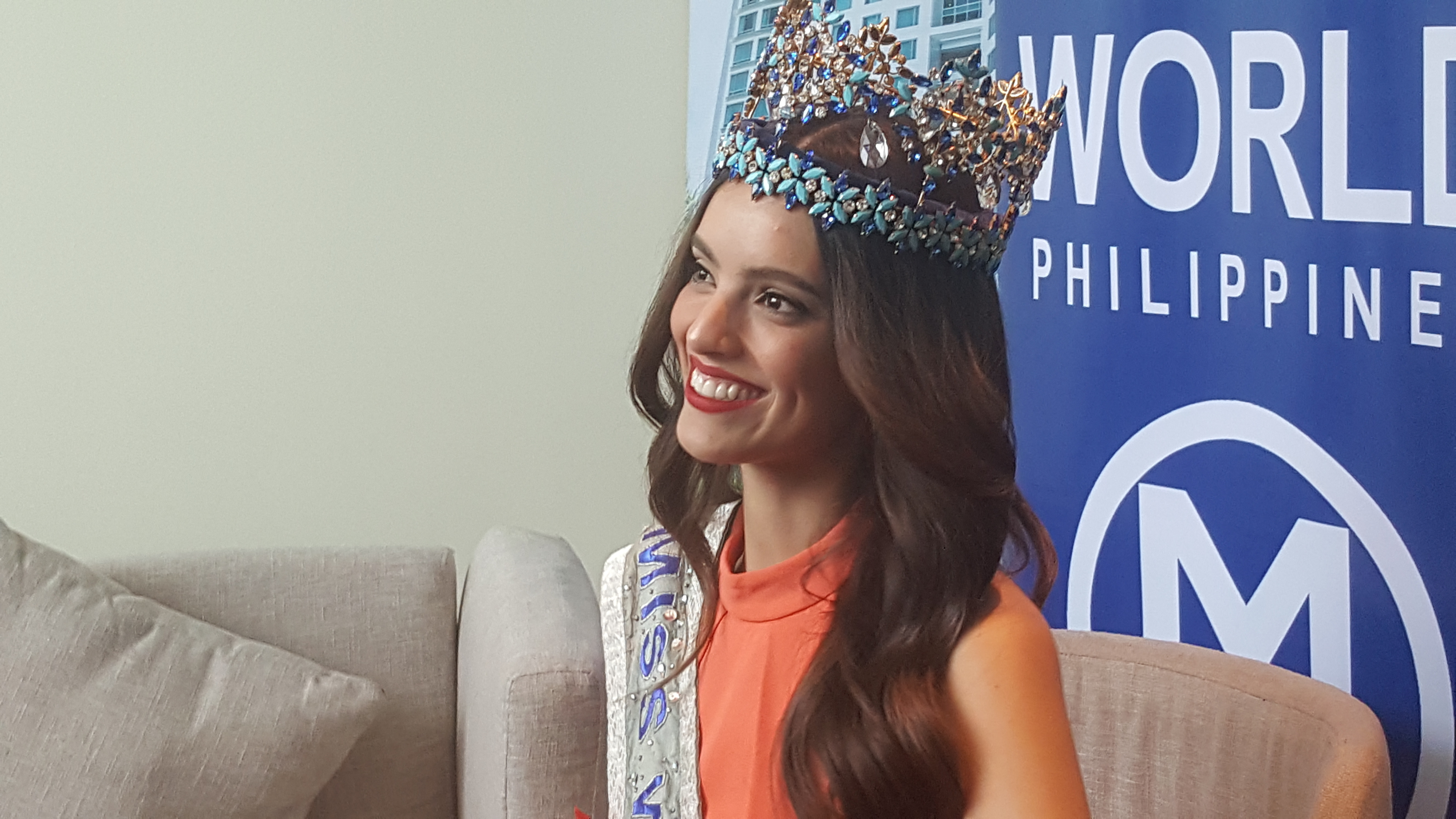 FIRST TIME IN MANILA. Vanessa Ponce de Leon says she wants to visit many places as she can in the Philippines including the beach.