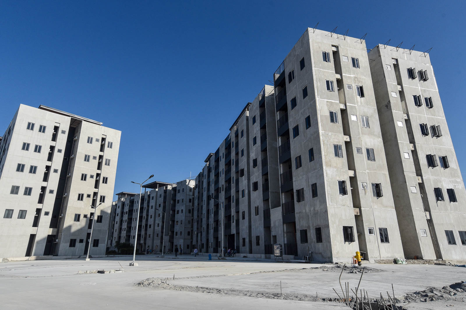 ATHLETES' VILLAGE. Several Filipinos who will be competing in the 2019 SEA Games are already living in the athletes' village in New Clark City. Photo by Angie de Silva/Rappler