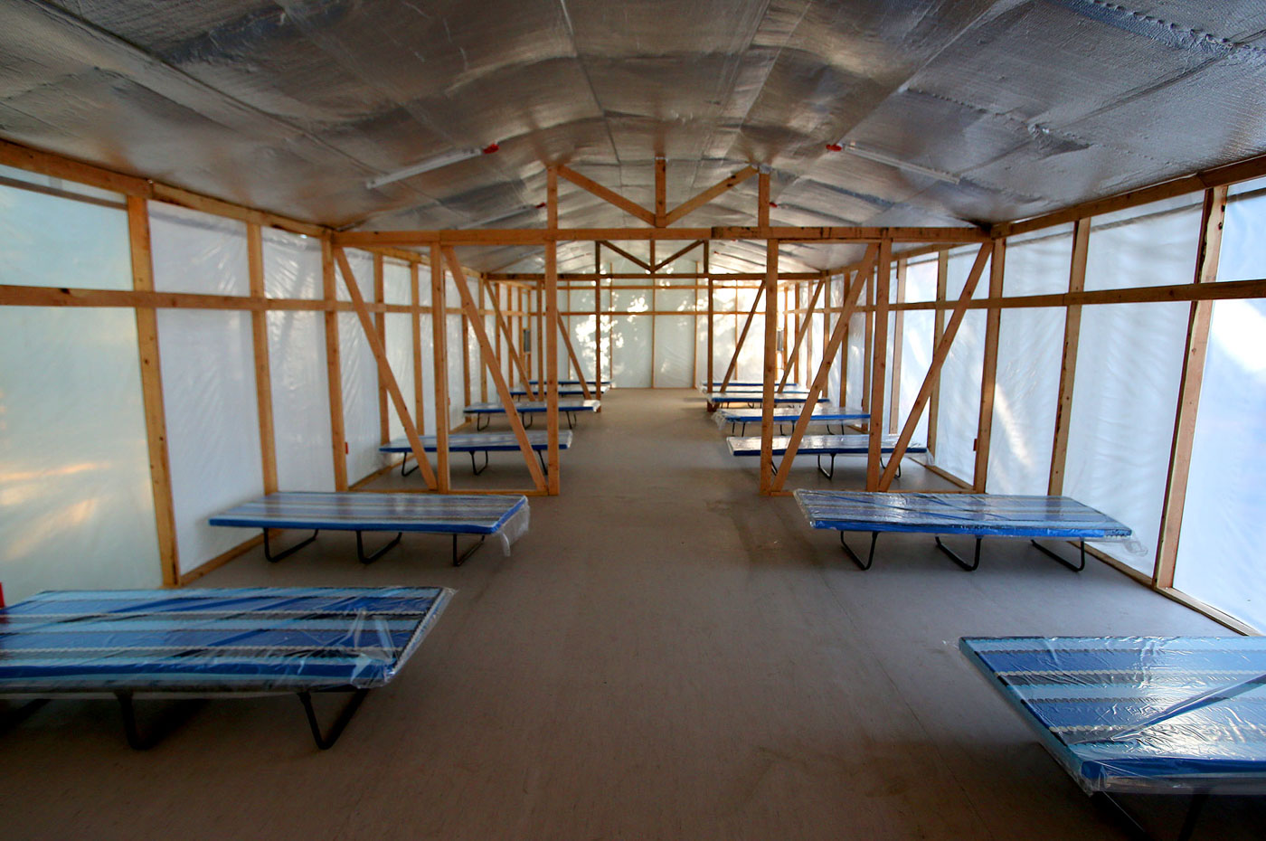 17 BEDS. The facility was designed and donated by the company WTA Architecture and Design. Photo by Inoue Jaena/Rappler