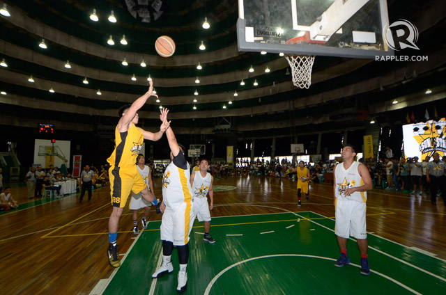 Star Magic Dream Team vs Sun Life Financial Team