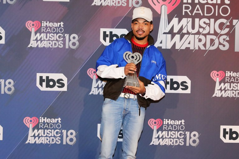 MANILA CONCERT. Chance the Rapper is set to perform in Manila for the first time on August 22, at the Mall of Asia Arena. Photo by Rachel Murray/Getty Images/AFP