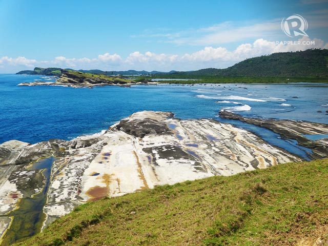 NOT YOUR USUAL BEACH. Not all beautiful beaches are made of white sand. Biri is made of giant rock formations among flat rock expanses