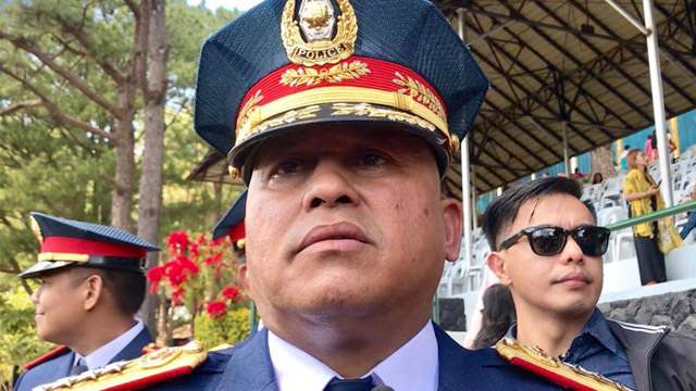'NO CHOICE'. Philippine National Police chief Director General Ronald dela Rosa tells reporters in Baguio City on February 17, 2018, that he will follow whatever President Rodrigo Duterte tells him to do. Photo by Rambo Talabong/Rappler