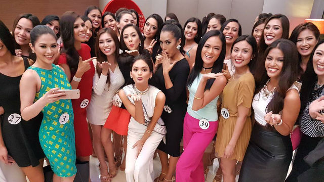 MISS UNIVERSE. Pia Alonzo Wurtzbach poses with the Binibining Pilipinas 2016 ladies days before she passes on her Miss Philippines crown. Screengrab from Instagram/missuniverse