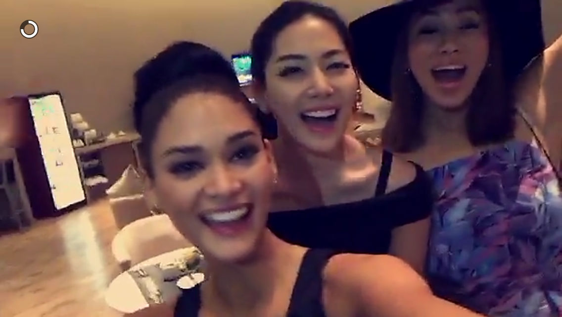 Screengrab from Snapchat/Miss Universe Org