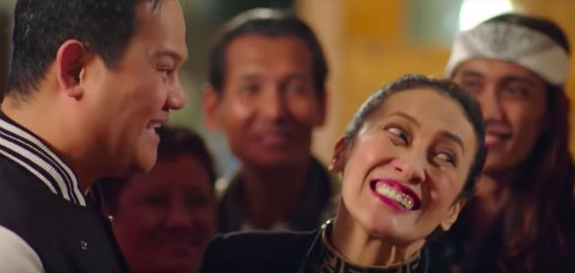 LOVE AND HATE. Chito (Agbayani) and Madame Bato-Bato (delas Alas) are always finding themselves together in a funny situation.