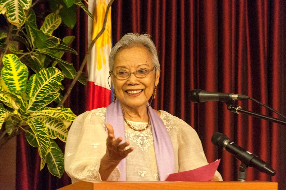 RESPECTED POLITICIAN. Former senator Ramos-Shahani in 2016. File photo courtesy Lila Shahani