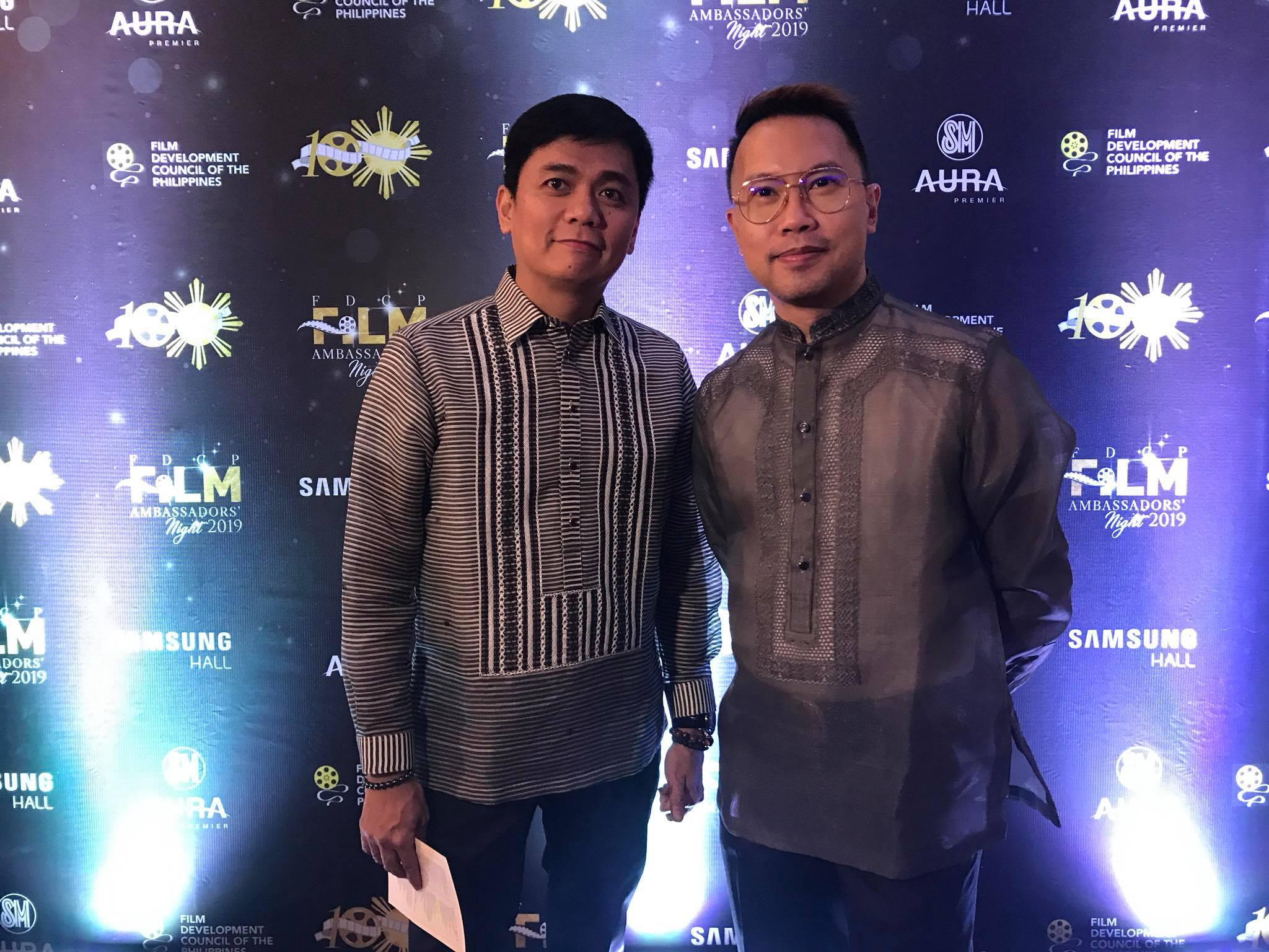 DUO. Directors and partners Jun Lana and Perci Intalan also came to the event.