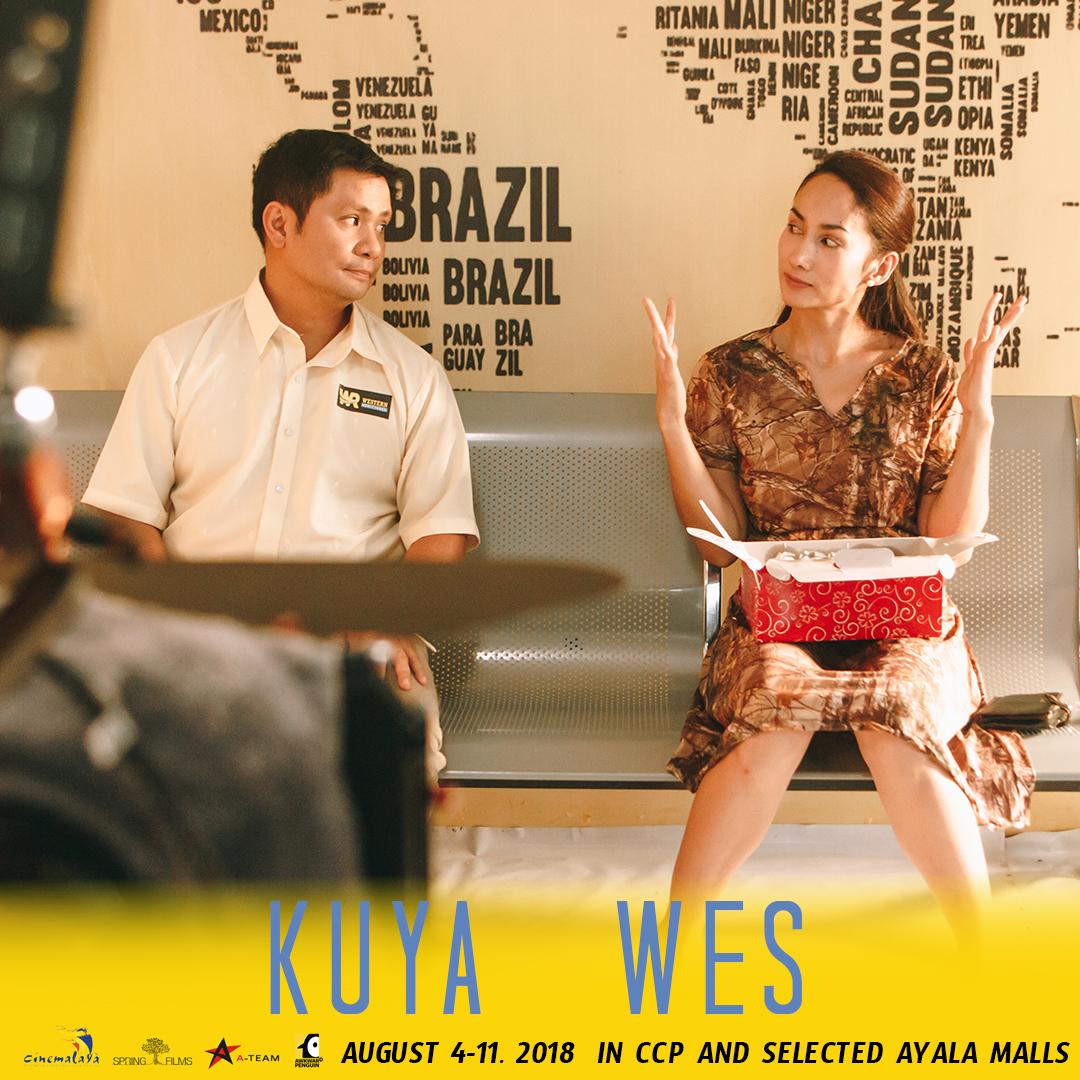 BUDDING ROMANCE. Ogie Alcasid and Ina Raymundo in a scene from 'Kuya Wes.' Photo courtesy of Cornerstone Entertainment