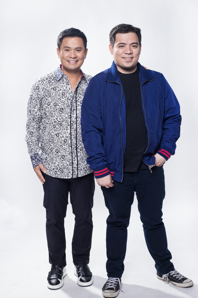 FIRST TIME. Ogie gets to work with director James Mayo for the first time in 'Kuya Wes.' Photo courtesy of Cornerstone Entertainment