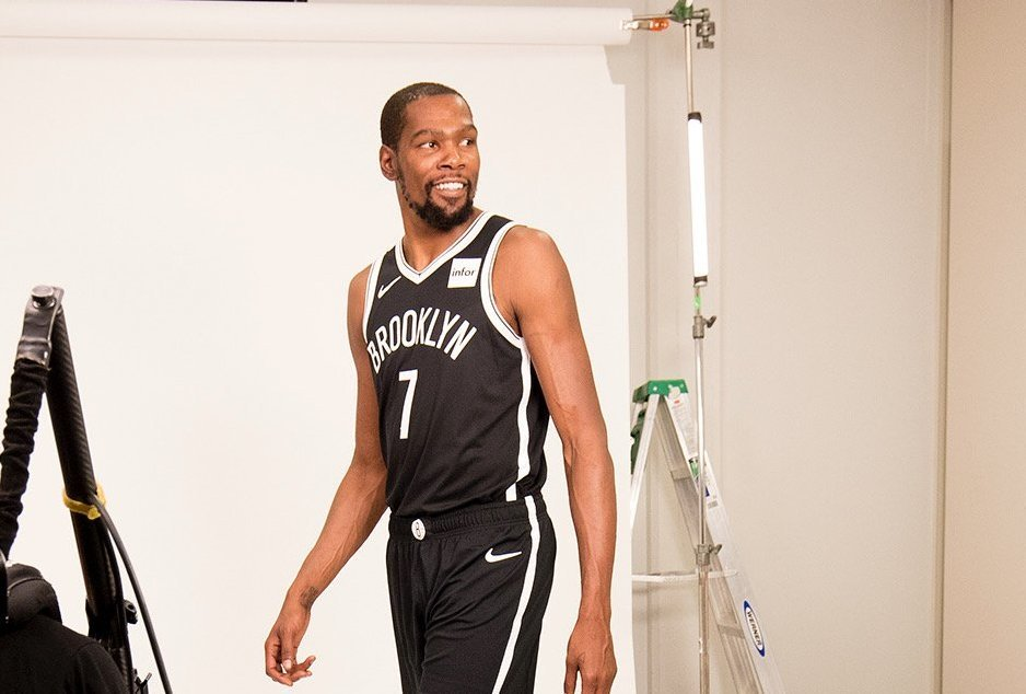 TOP SEED. Former NBA MVP Kevin Durant secures the highest ranking in the 16-man field. Photo from Brooklyn Nets