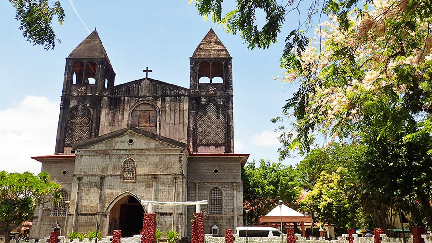DAPITAN CHURCH. St. James Church at the perimeter of the town plaza. Rizal went to Mass here regularly.