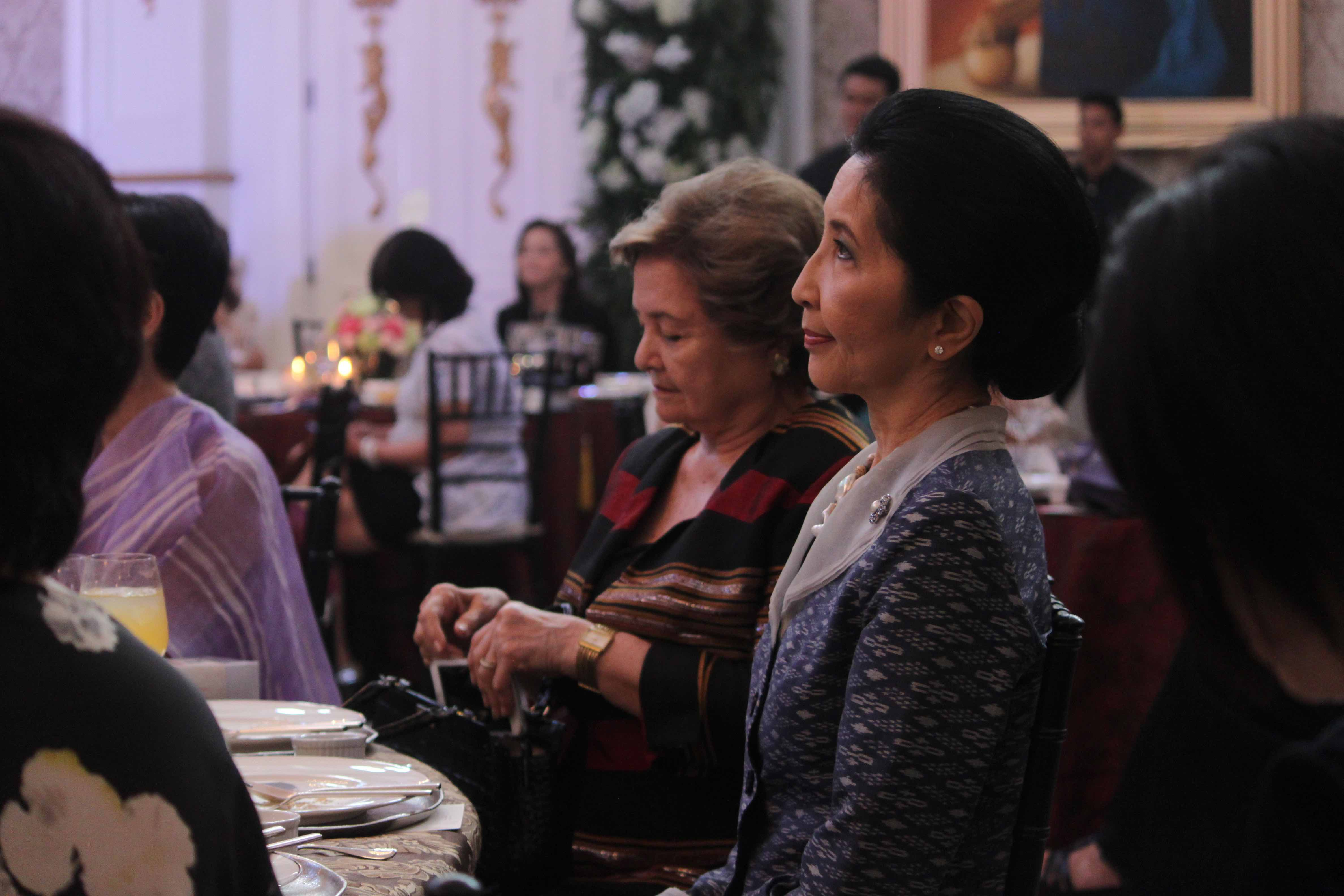 FORMER PROFESSOR. Naraporn Chan-ocha, the wife of Thailand Prime Minister Prayut Chan-o-cha, during a luncheon in Manila. File photo courtesy of the APEC gallery