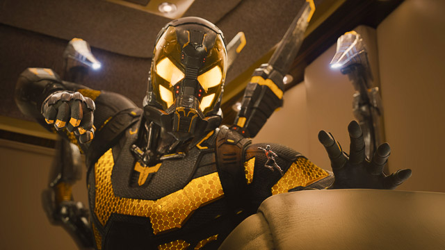 YELLOWJACKET. This tiny villain causes a lot of trouble. Photo courtesy of Disney