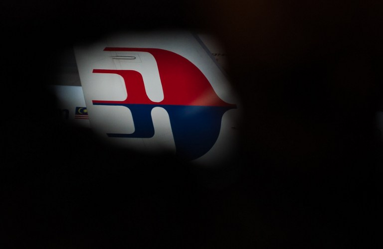 MALAYSIA AIRLINES. A Malaysia Airlines logo is pictured at Kuala Lumpur International Airport (KLIA) in Sepang on March 8, 2015. File photo by Mohd Rasfan/AFP