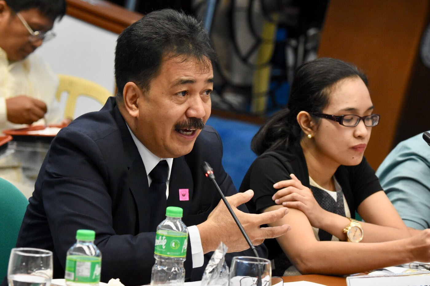 CHED CHIEF. Dr. Prospeo De Vera III, OIC of Commission of Higher Education at the senate hearing on the 2019 budget of the CHED. September 20, 2018. Photo by Angie de Silva/Rappler