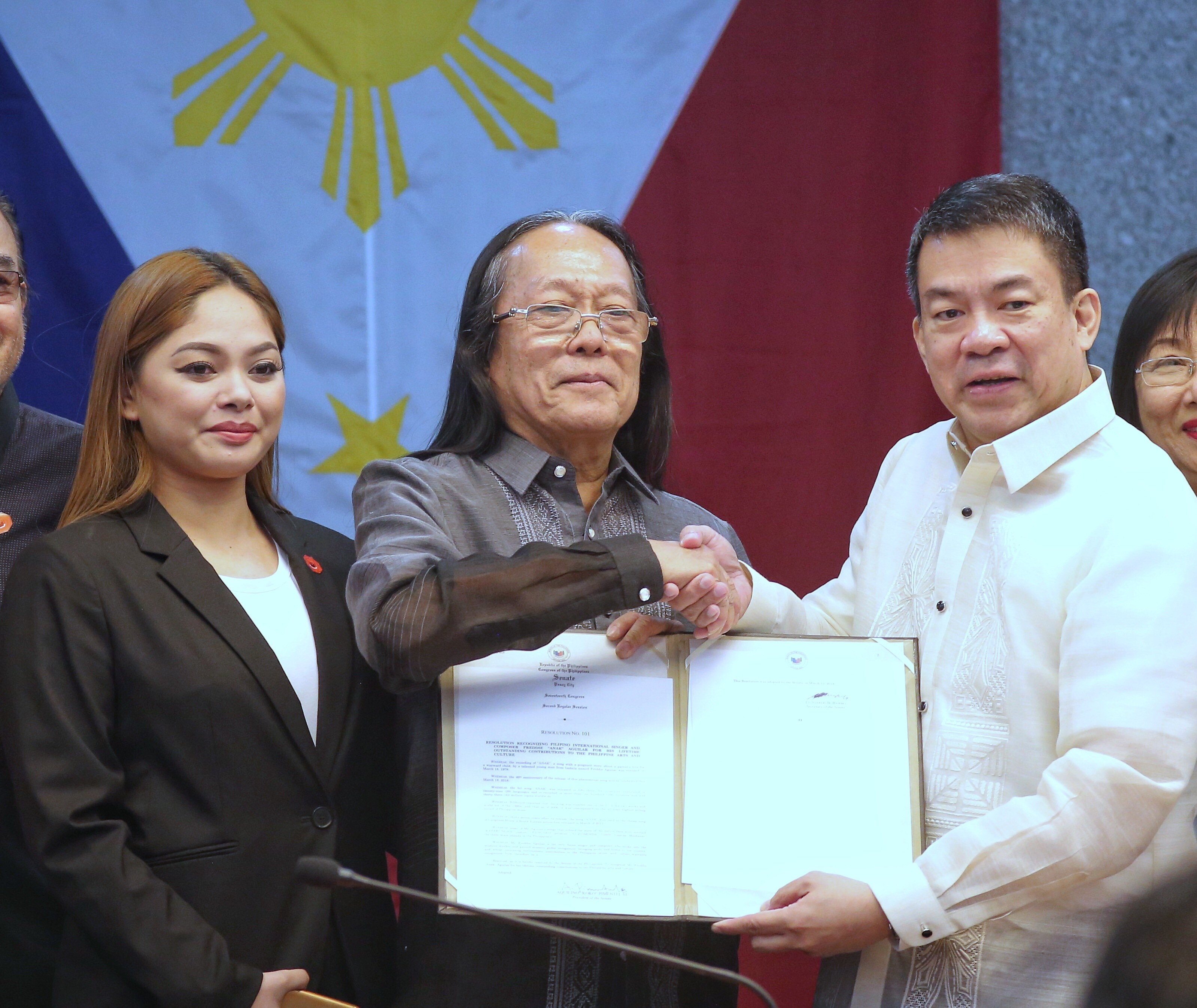 NCCA. Freddie Aguilar initially want to be part of the NCCA. Photo from  by Joseph Vidal/PRIB