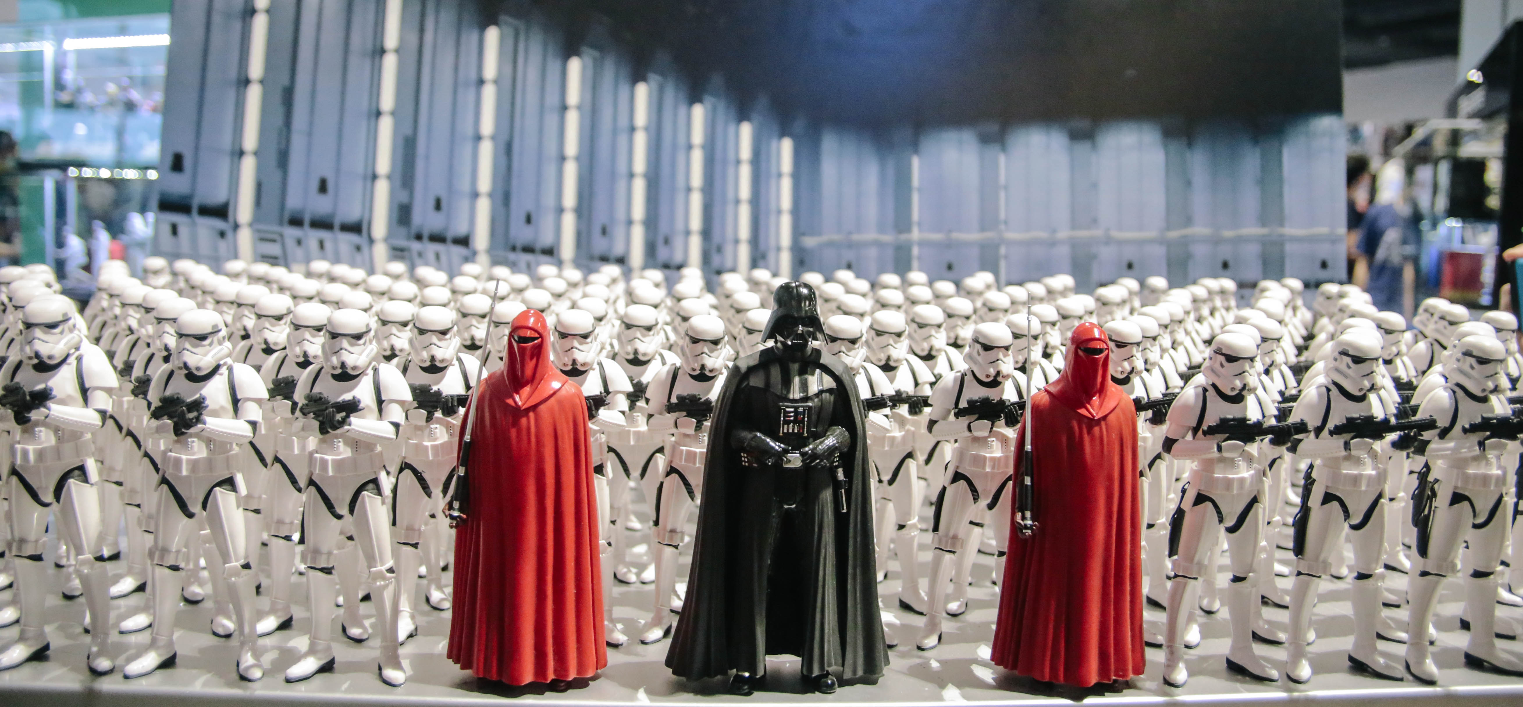 Darth Vader, Imperial Guards, and Stormtroopers. Photo by Paolo Abad/Rappler