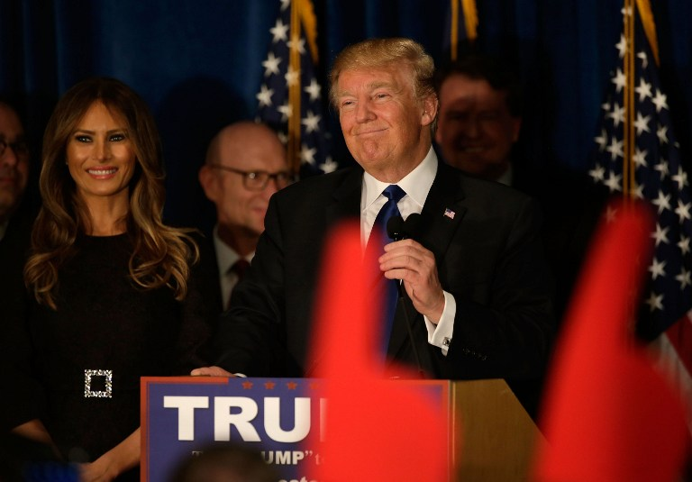 TAKING ADVICE. US President-elect Donald Trump said he is open to seeking advice from former President Bill Clinton u2013 husband of his election rival Hillary Clinton.
