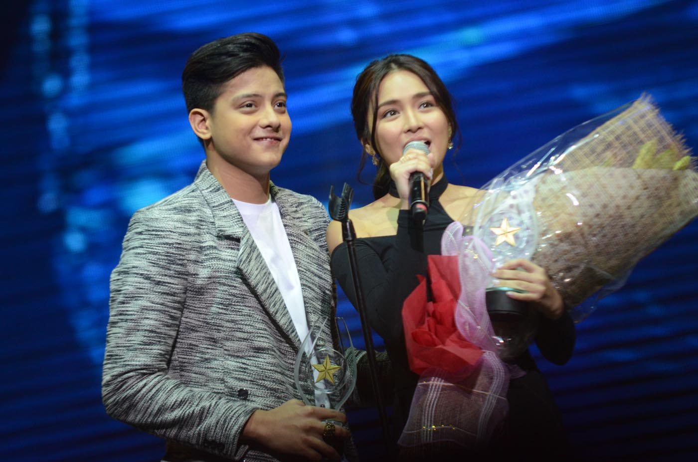 EXCLUSIVELY DATING. Daniel Padilla says that he and Kathryn Bernardo are exclusively dating, but do not have a label in their relationship.File photo by Alecs Ongcal/Rappler