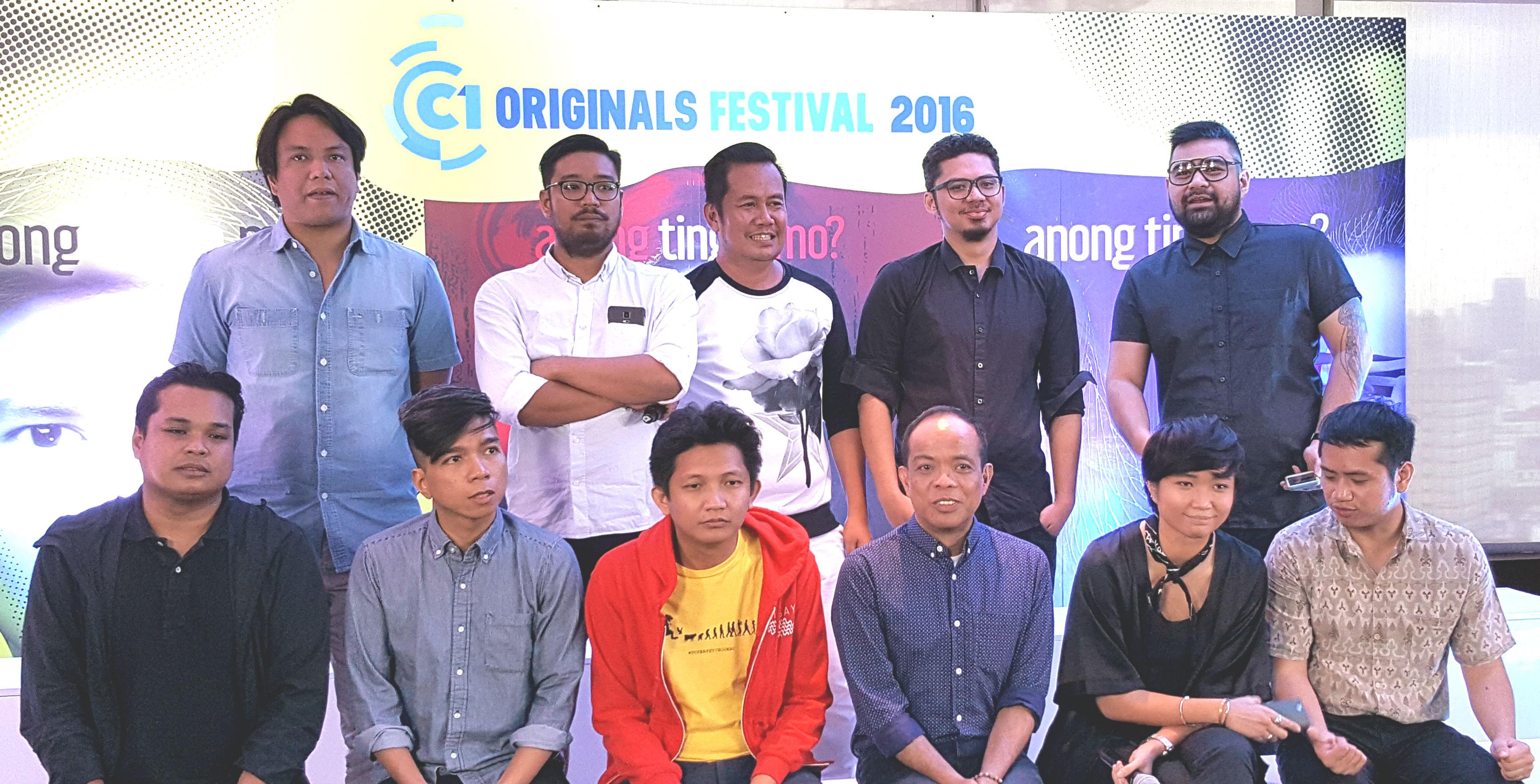 The directors of this year's Cinema One Originals. Photo by Alexa Villano/Rappler