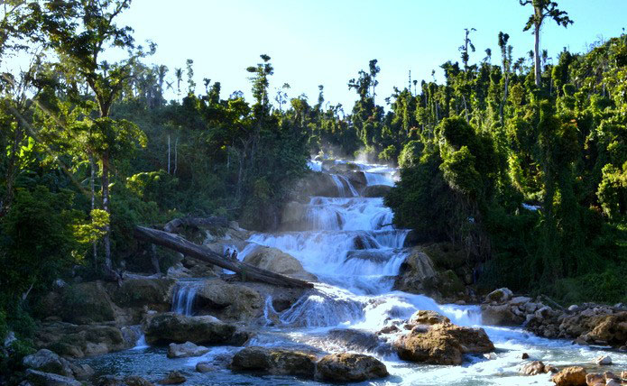 Aliwagwag Falls in Cateel, Davao Oriental is a sight to behold.