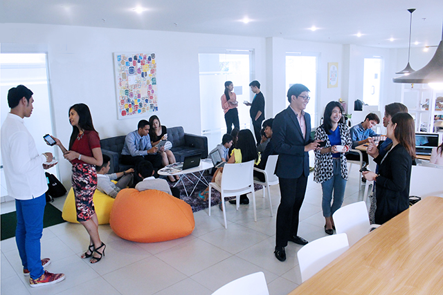 SPACE. For Brainsparks, a major part of this solution is BITSPACE, their coworking space, a place for entrepreneurs and other professionals to meet, connect, work, and create.