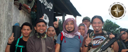 ISIS-designated emir Isnilon Hapilon, in a photo in Rumiyah magazine's 10th issue. Photo courtesy TRAC