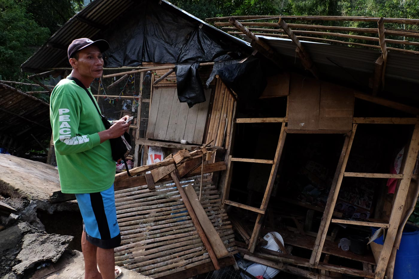 Barangay Ilomavis, Cotabato. Photo by Bobby Lagsa/Rappler
