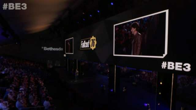 Screenshot from Bethesda presentation
