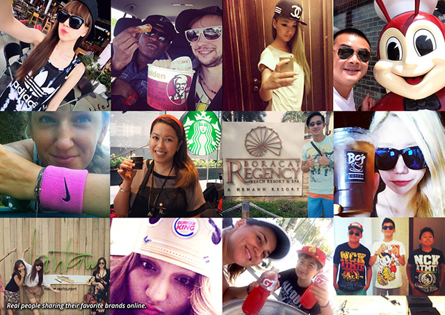 SELFIE LOVE. Cebu-based entrepreneur Seph Mayol capitalizes on Filipinos love for selfie by founding Hoy!, a social network brand placement platform. All images courtesy of Hoy!