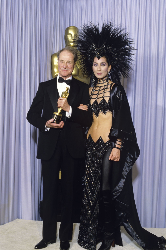 ART DECO. Cher wears Bob Mackie. Photo from oscar.go.com