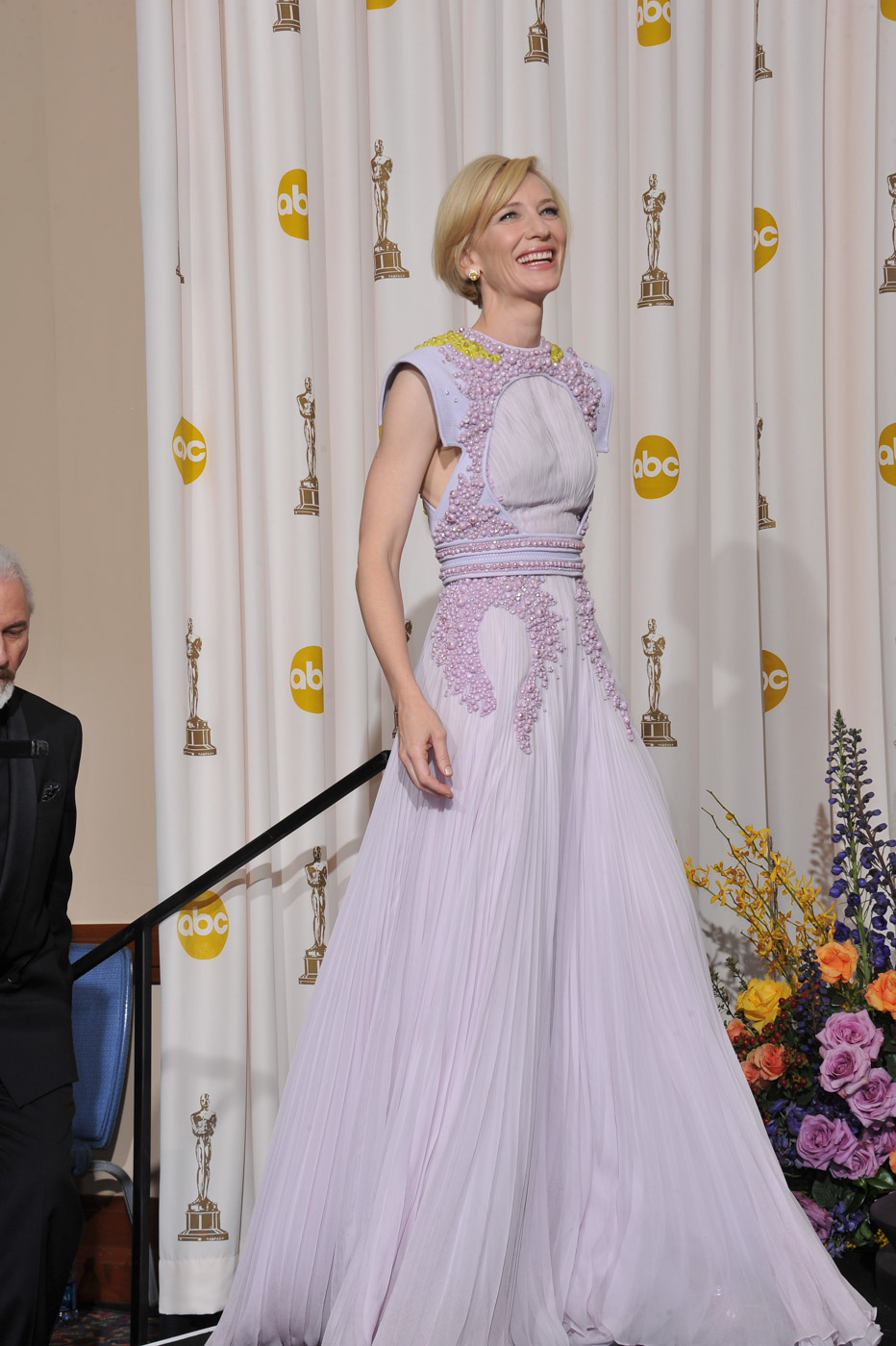 AVANT-GARDE. Cate Blanchett wears an alienesque Givenchy number.