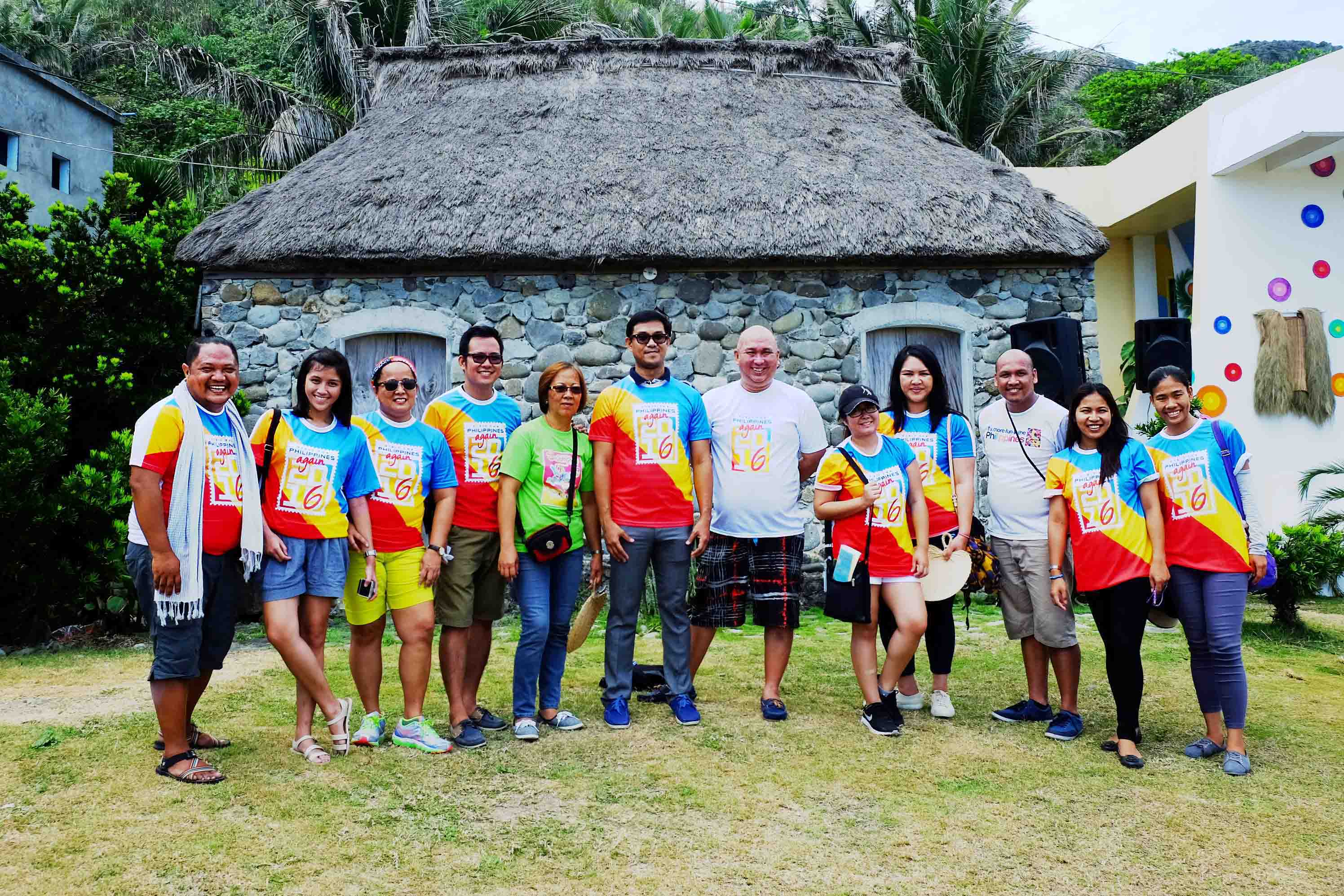 CHIPPING IN. Everyone helped make the festival a success. In the photo are DOT Region II Director, Vir Maguigad together with representatives from the Tourism Promotions Board, Batanes Tourism Office, Wakay Tours u0026 members of the media. Photo by Potpot Pinili/Rappler