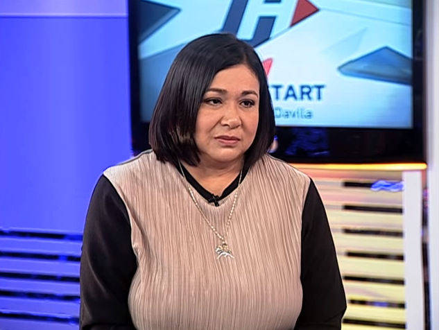 NO TO GAY MARRIAGE. Actress and UNA senatorial candidate Alma Moreno says homosexuals should not be allowed to tie the knot. Screenshot from YouTube/ABS-CBN News