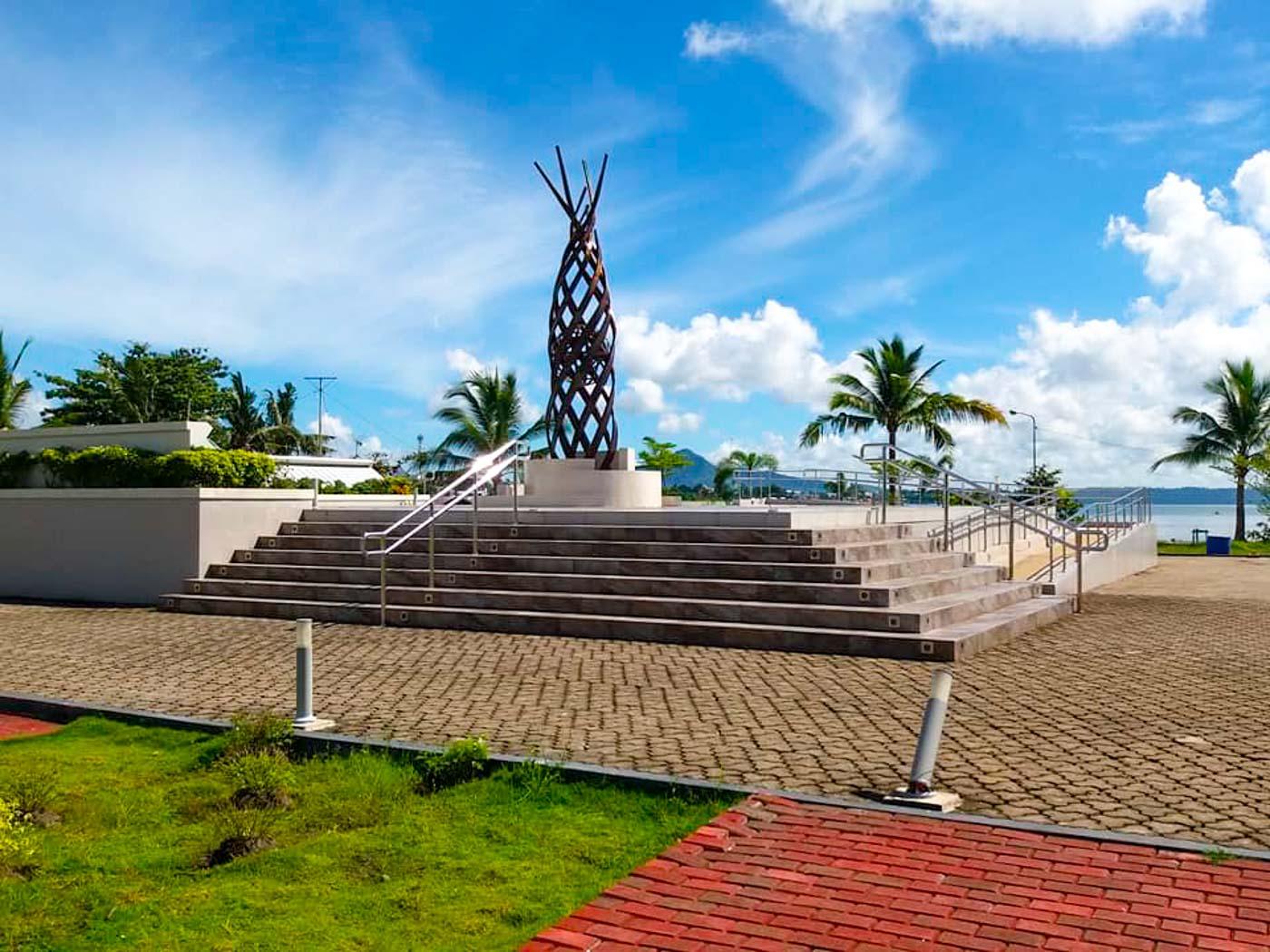 MEMORIAL. A park to remember those who perished. Photo by Jazmin Bonifacio/Rappler