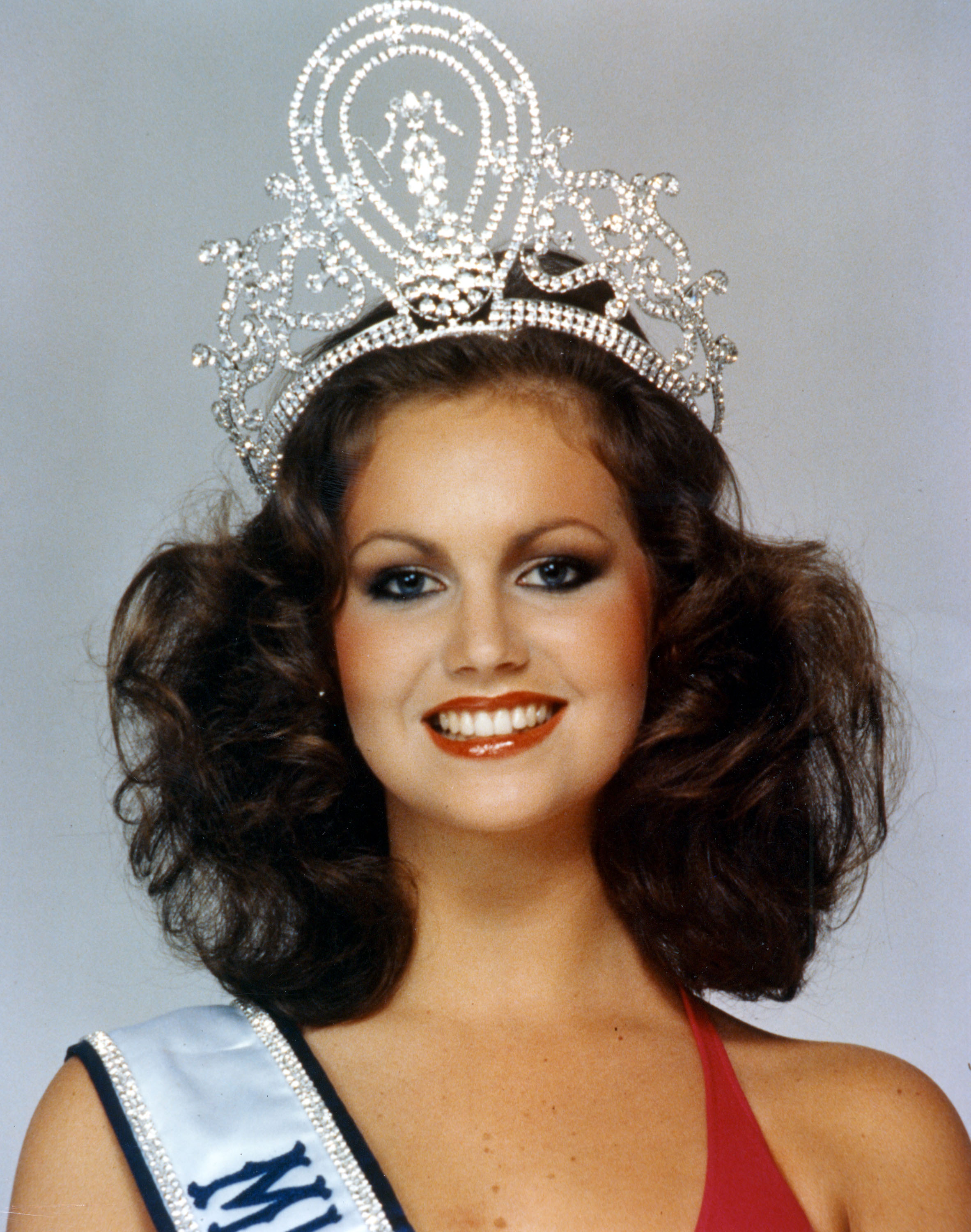 MISS UNIVERSE 1978. Margaret Gardiner, from South Africa, was a 19-year-old model when she won the crown.