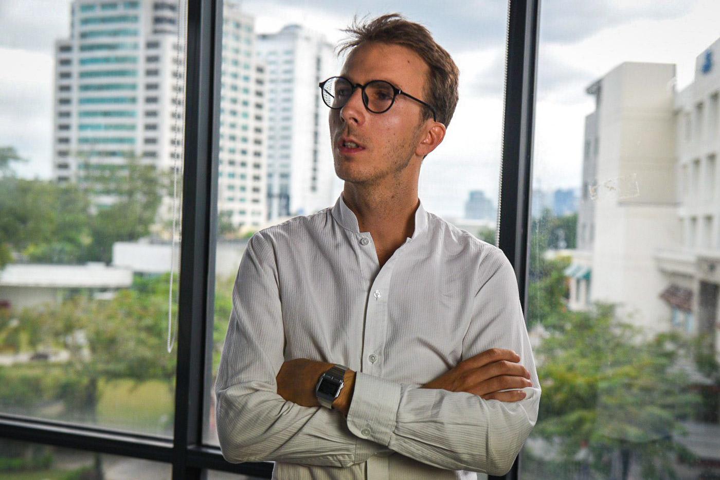 Quanta Digital's founder and CEO, Tristan de Belloy