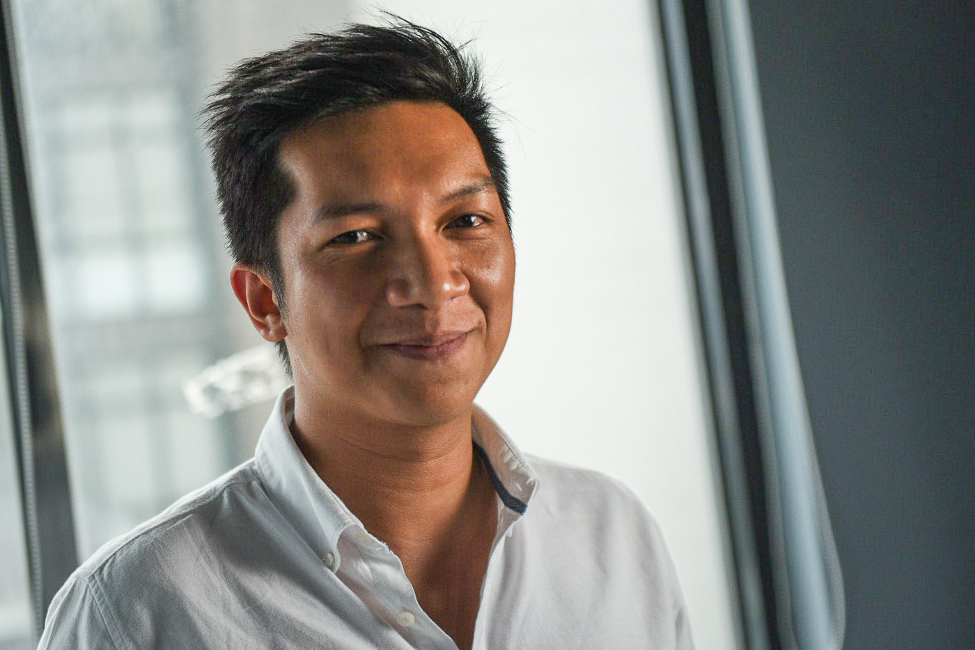 Quanta Digital's digital director, Sydney Dondon
