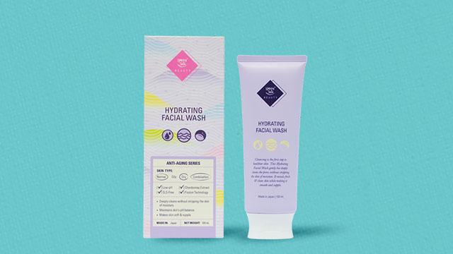 Hydrating facial wash (P599)