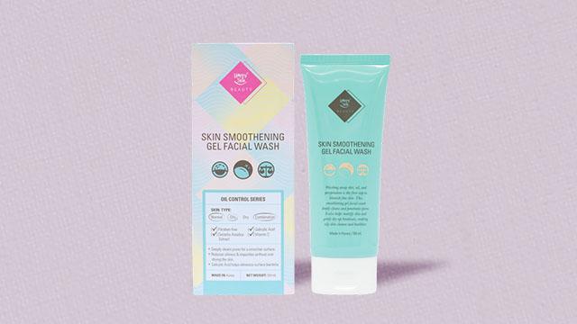 Skin smoothening gel facial wash (P499)